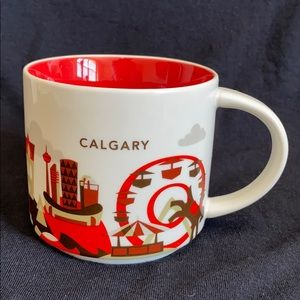 "Starbucks You are Here Collection ""Calgary"" Mug."